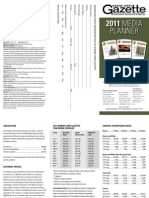 Marine Corps Gazette 2011 Print Rates
