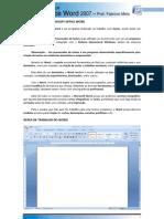 Introdução ao Microsoft Word 2007