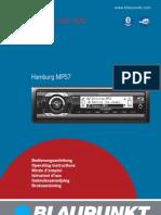 Blaupunkt Hamburg MP57 Istruzioni