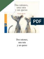 Dos Ratones y Un Queso
