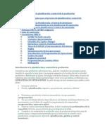 Introducción a la planificación y control de la producción