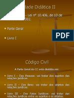 SLIDES DE DIREITO CIVIL (2)- PESSOAS E CAPACIDADES