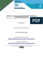 Mercado Laboral Educacion Superior Morales