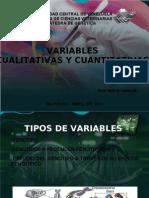 Variables Cualitativas y Cuantitativas Estudiantes