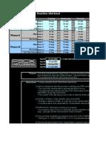 My P90X Worksheet