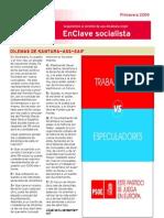PSOE Alcántara. EnClave Socialista Primavera 2009