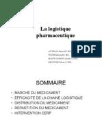 La logistique du médicament
