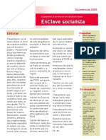 PSOE Alcántara. EnClave Socialista Diciembre 2005