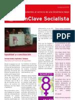 PSOE Alcántara. EnClave Socialista Invierno 2009