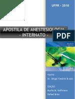 Apostila Anestesio Versao Final