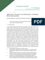 Habermas, Foucault and Nietzsche- A Double Mi Sunders Tan Ing