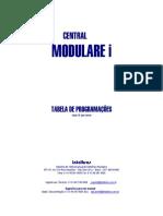 Tabela de Programação Modulare