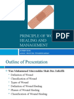Surgery - Principle of Wound Healing and Management