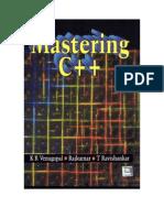 Mastering C++ by KR Venugopal