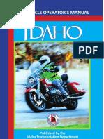Idaho Motorcycle Manual