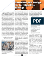 Seismic Performance and Design Requirements for High Rise Concrete Buildongs