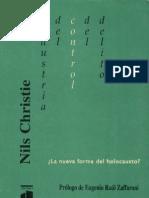 La Industria Del Control Del Delito - PDF