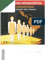 Dimenciones Antropométricas-Población latinoamericana