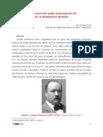 Arrhenius Analyse