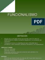 defFUNCIONALISMO