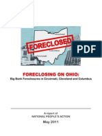 Foreclosing on Ohio - Big Bank Foreclosures in Cincinnati, Cleveland, And Columbus
