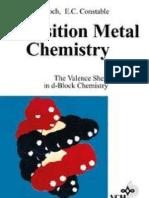 Transition Metal Chemistry - The Valence Shell in D-Block Chemistry - Gerloch
