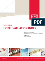 HVS India Hotel Valuation Index HVI 2011