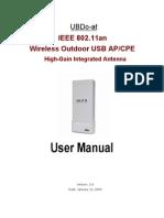UBDo-At User Manual_20090222