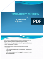 Two -Body Motion