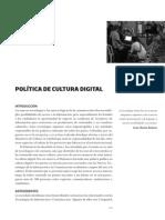 Politica Cultura Digital (2009)