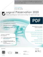 Digital Preservation 2020