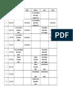 horario 2011