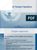 PPT - Multi Modal Transport Operations