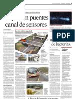 Requieren Puentes Canal de Sensores
