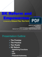 SK Reform and Empowerment Bill