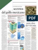 Indagan Secretos Del Golfo Mexicano