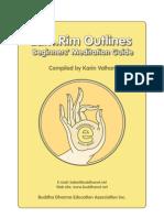 Lam Rim Outline