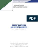 Code In Citation Aux Investissements
