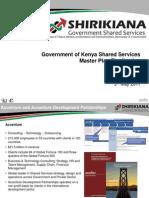 Shirikiana Shared Services Master Plan 2011