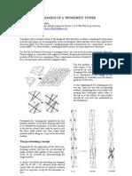 The Making of a Tensegrity Tower - Herbert Klimke, Soeren Stephan - 2004