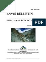 ENVIS Bulletin Vol 11 (1)