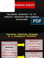 Strategic Fit_Managerial Policy