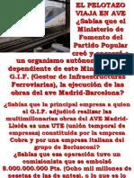 Pelotazo Del AVE