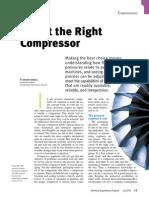 Select the Right Compressor (CEP)