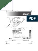 Manual de Usuario Tensiometro Omron Mit Elite Plus