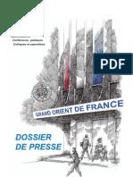 Dossier de Presse, présentation 2011