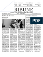 LAU Tribune Issue 2 - Vol 2