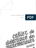 Jacqueline Robinet - Histoire de La Convergence Uniforme