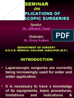 COMPLICATIONS OF LAPAROSCOPIC SURGERIES