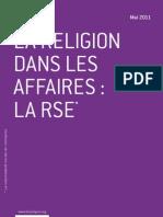 La religion dans les affaires